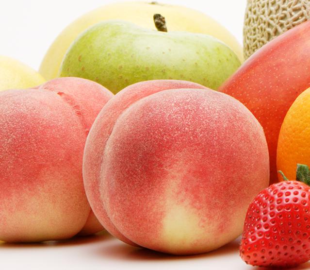 山形県天童市にある、美味しい果物を栽培・生産しているフルーツ果乃蔵のフルーツのコレクション